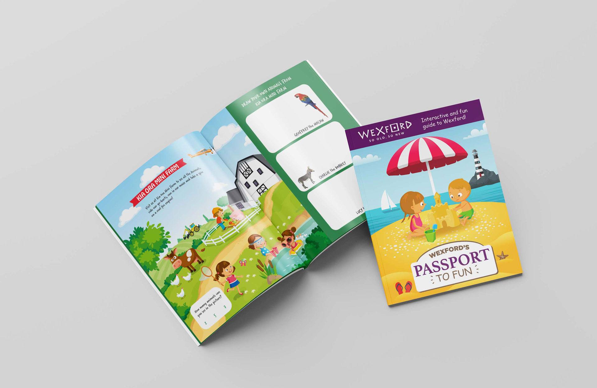 Visit Wexford Kids Book 02