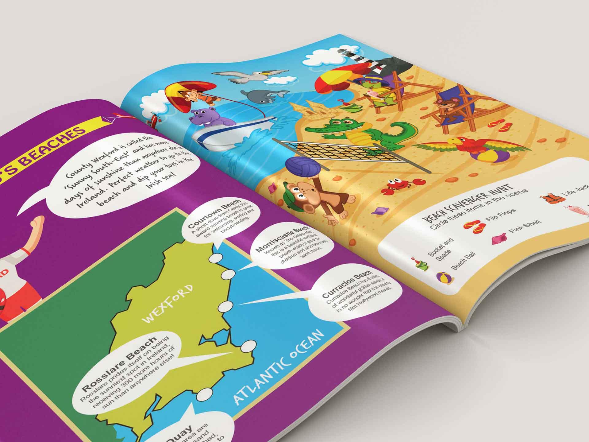 Visit Wexford Kids Book 04