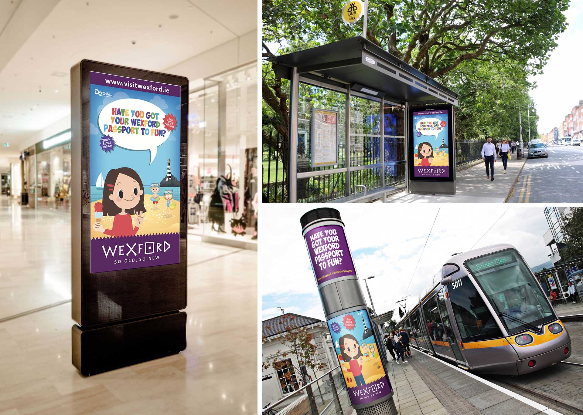 Visit Wexford Kids Book Adverising Collateral