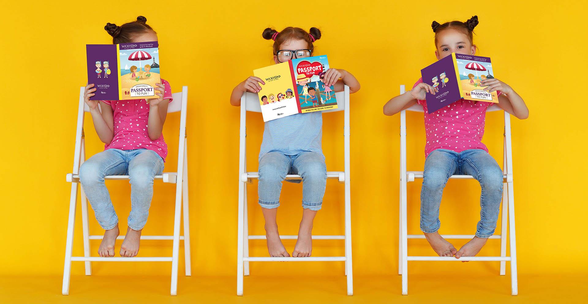 Visit Wexford Kids Book Header