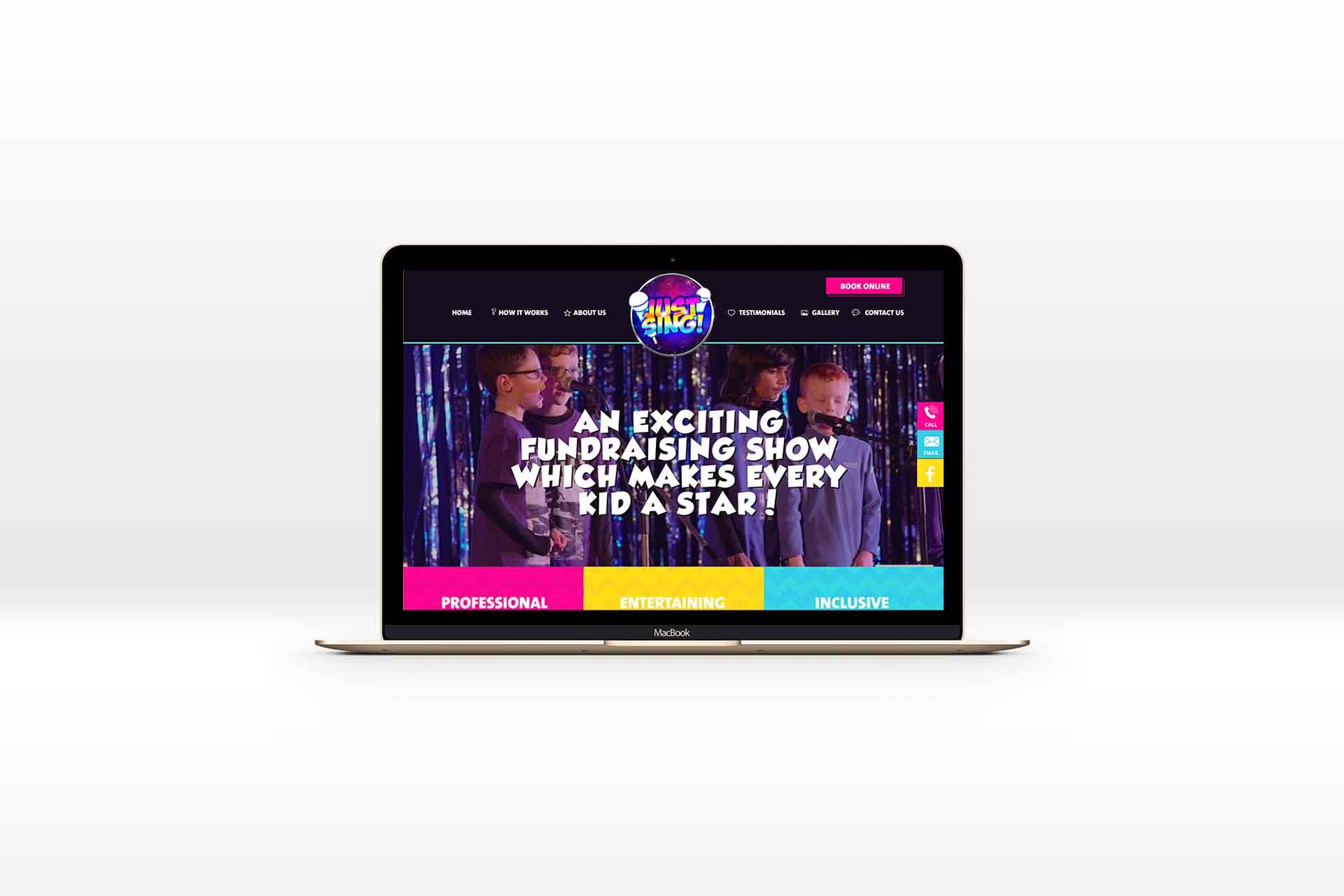 Justsing Website