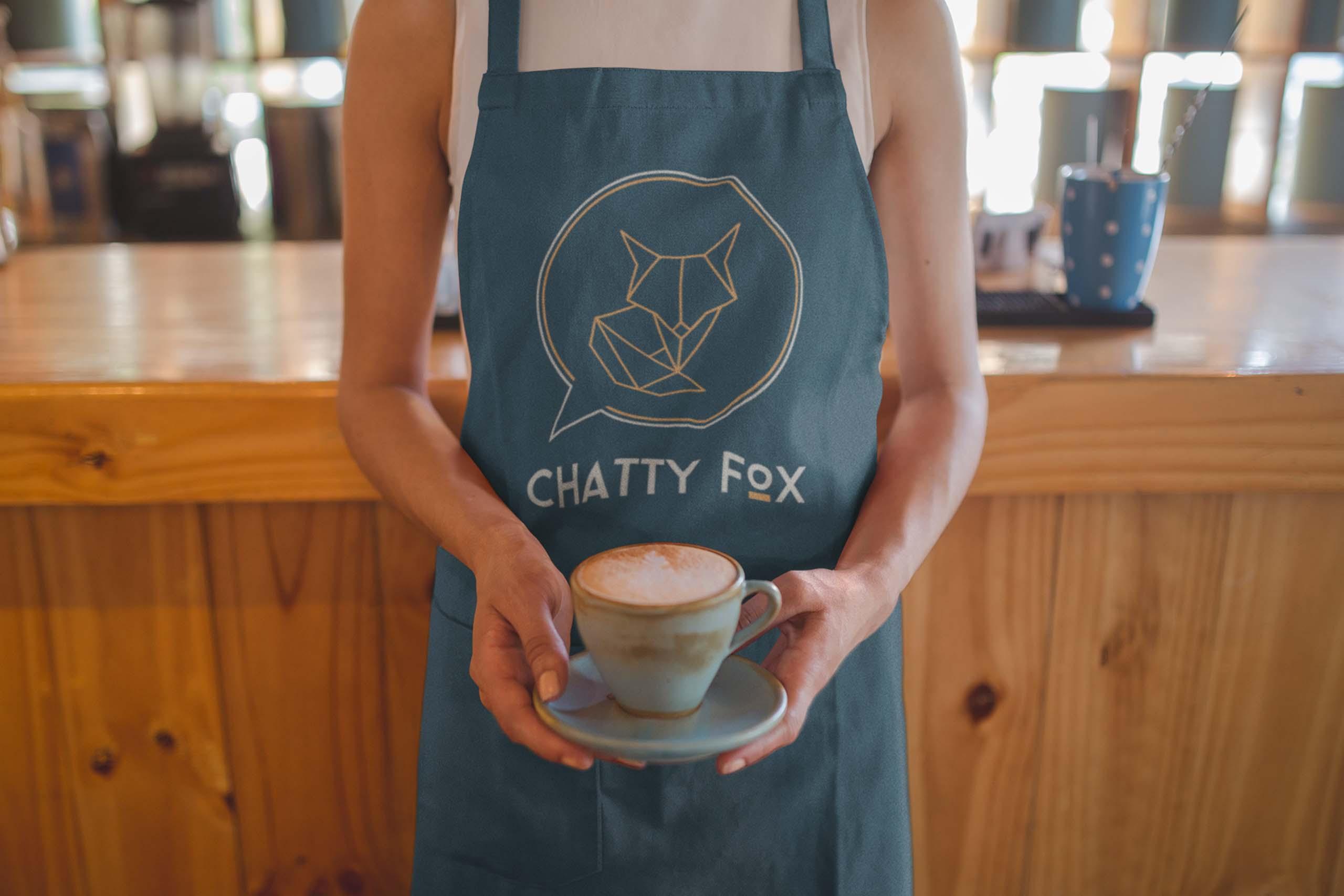 Chatty Fox Apron