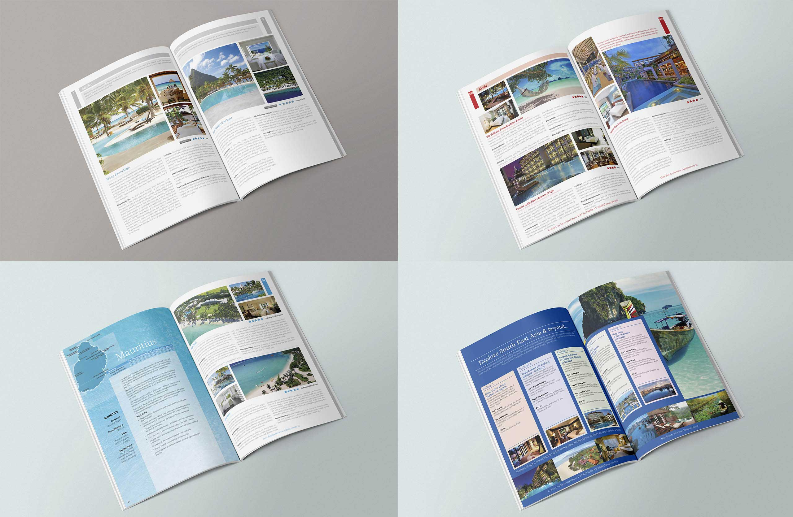 Classic Resorts Magazine Spreads