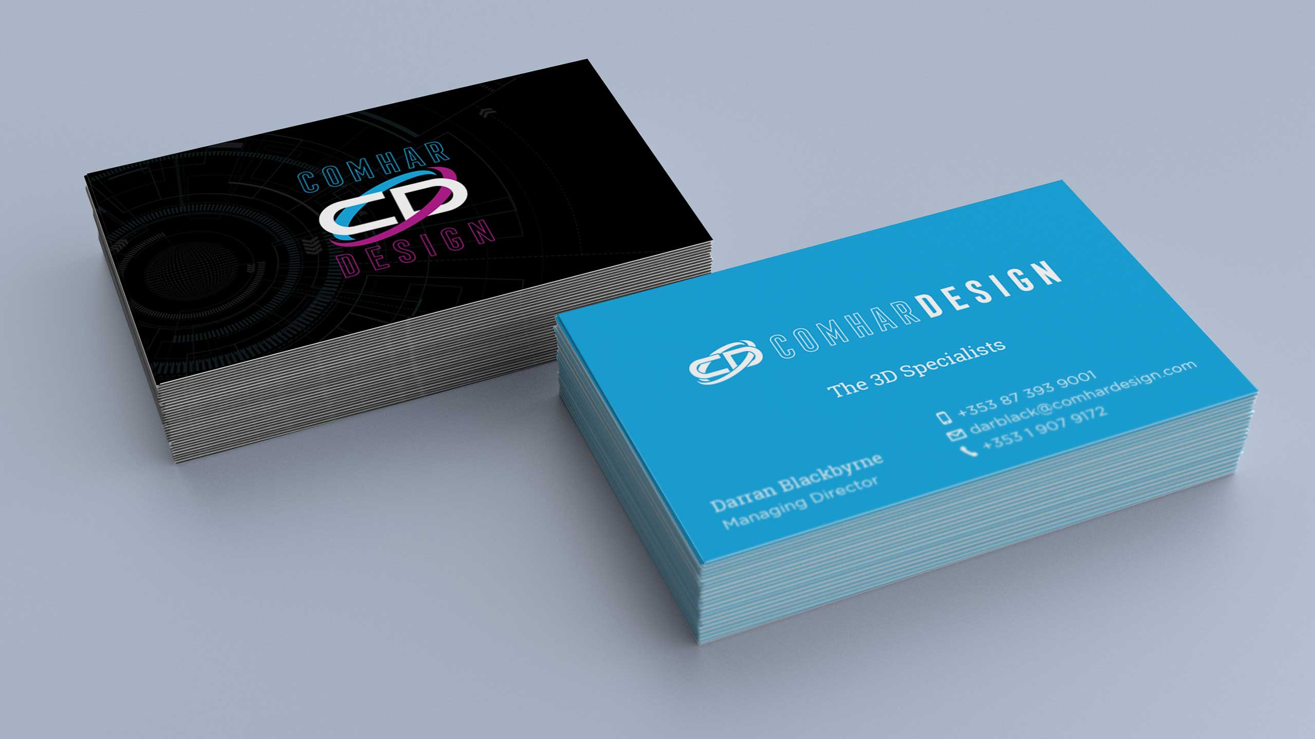 Comhar Design Business Cards