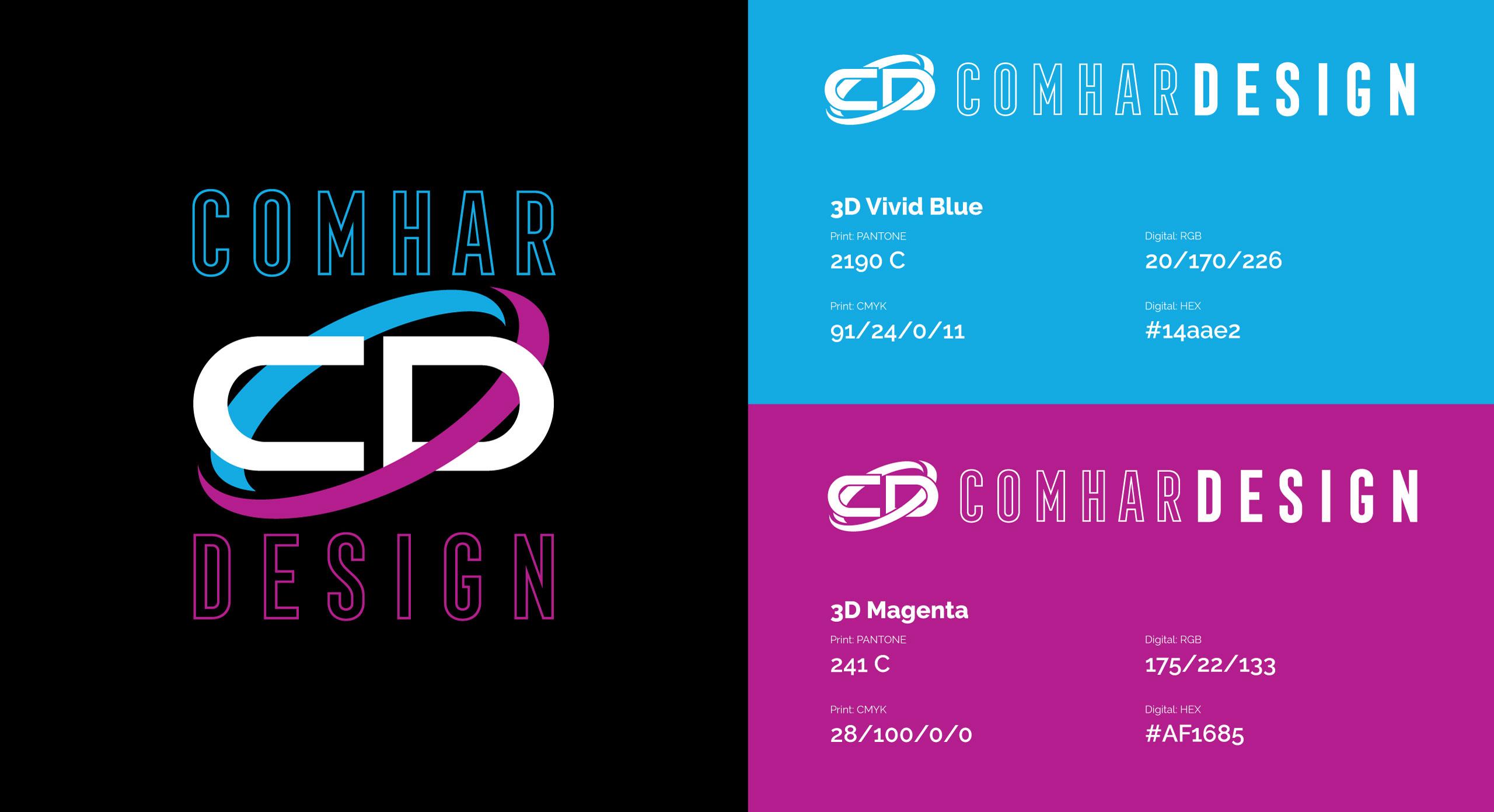 Comhar Design Logo Design