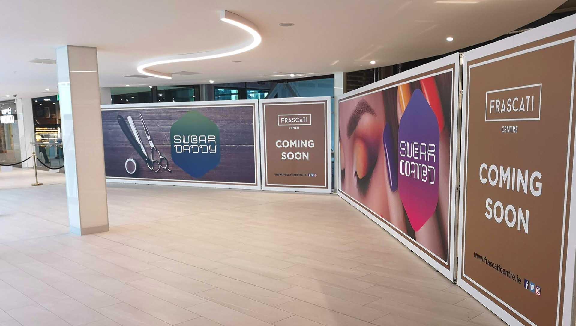 Frascati Centre Advertising Hoarding