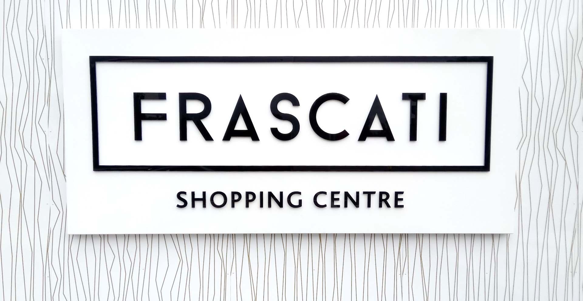 Frascati Signage Header