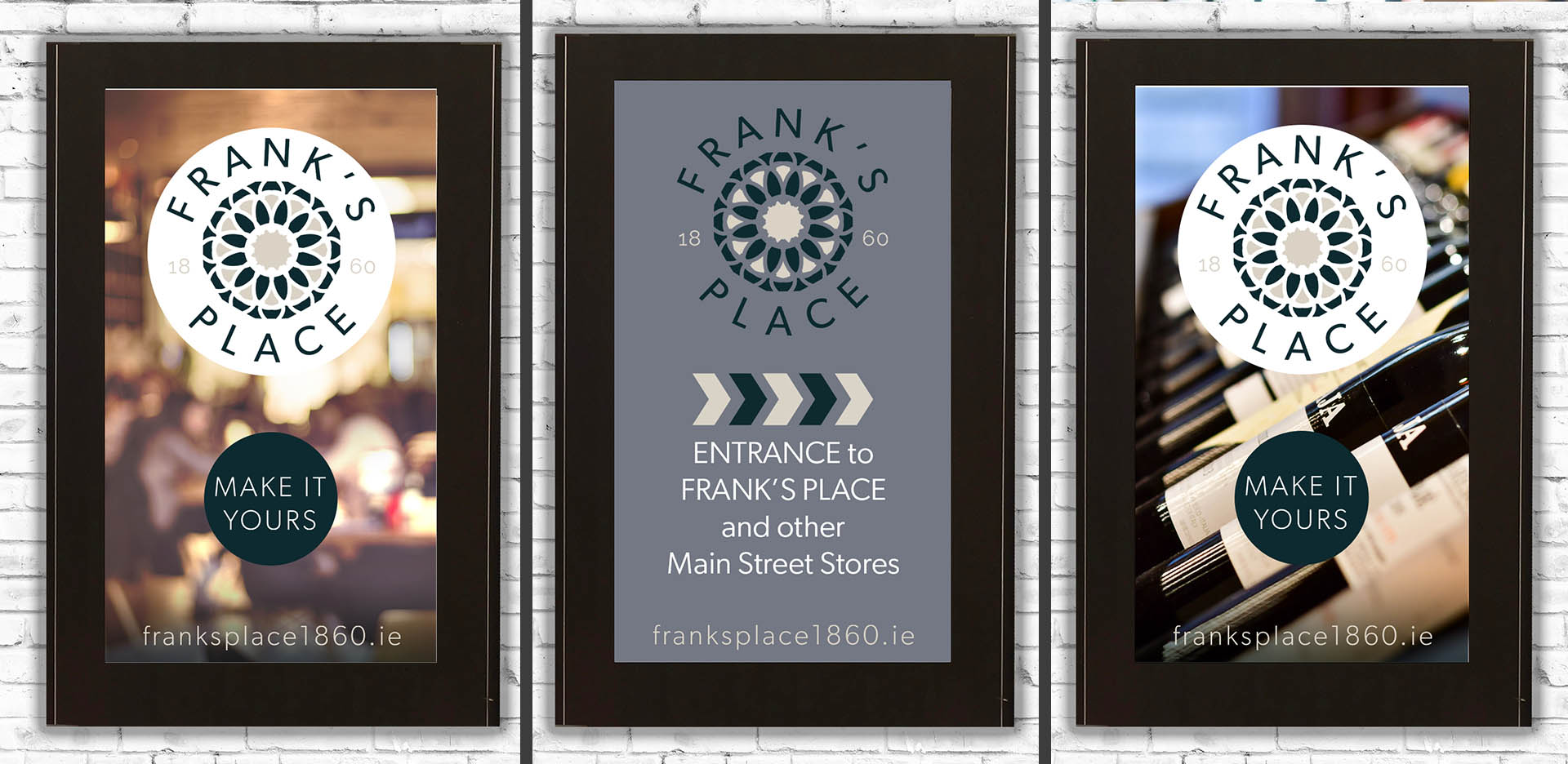 Franks Place Digital Signage