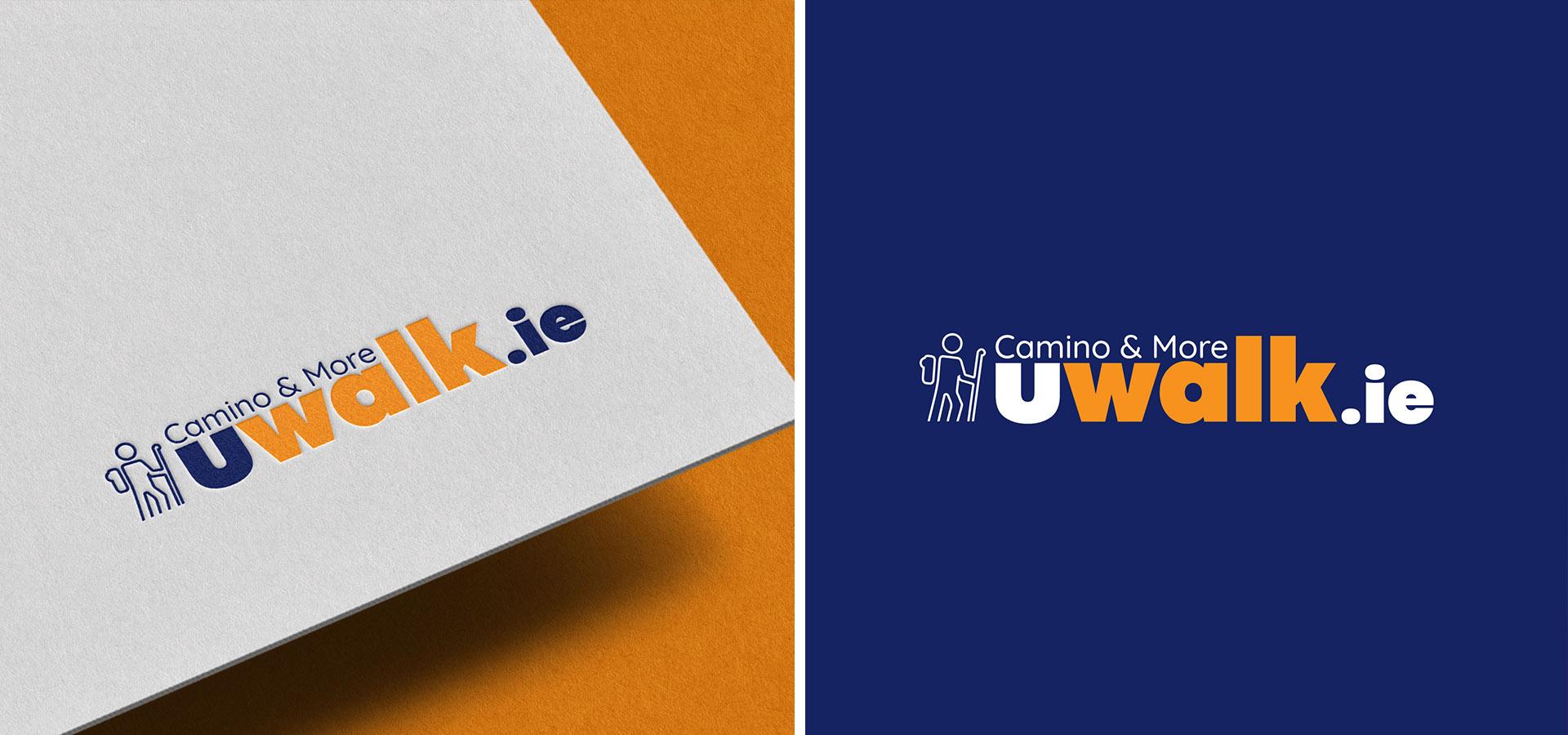 Uwalk Logo Design