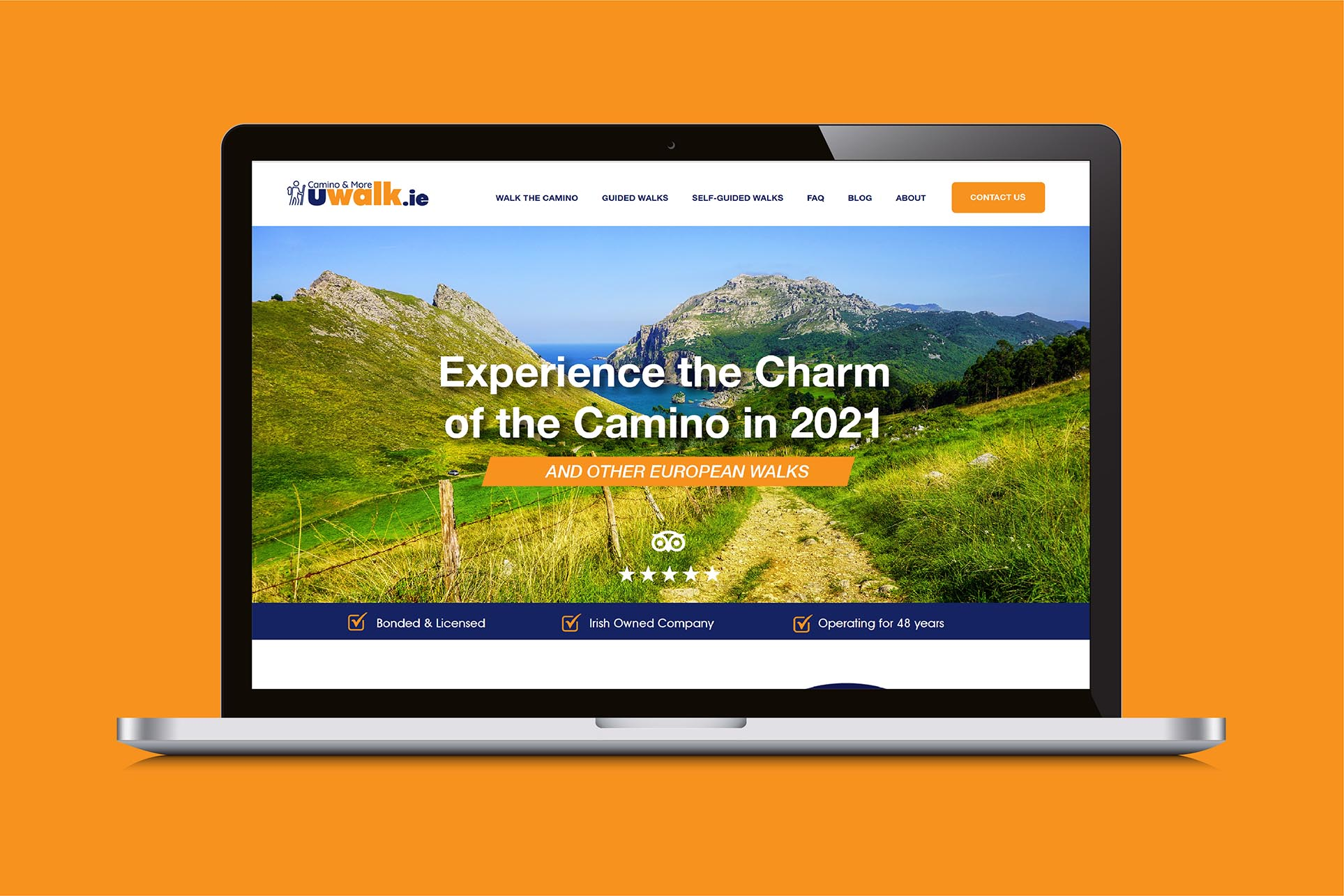 Uwalk Website Design Home