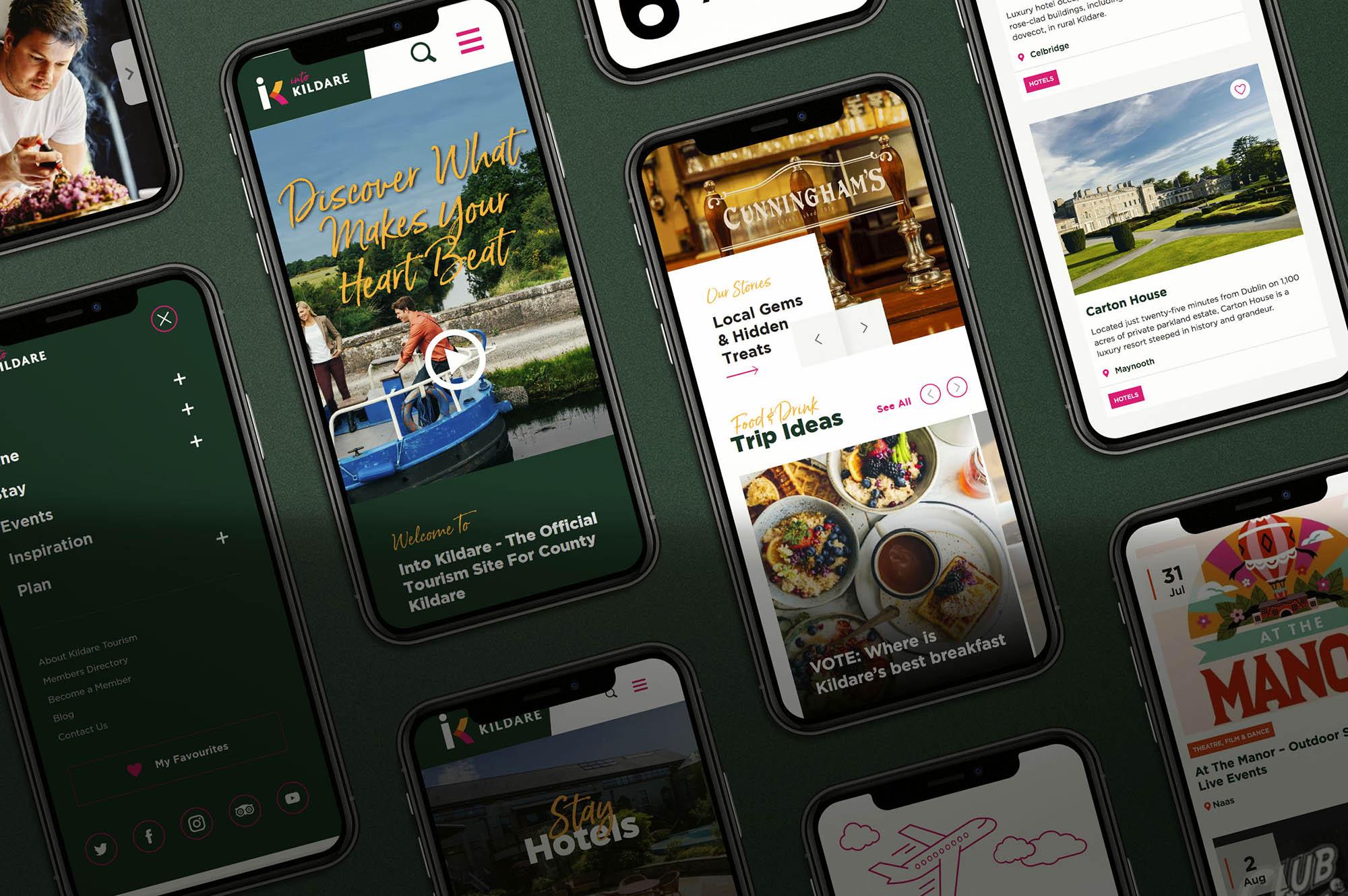 Into Kildare Mobile Screens