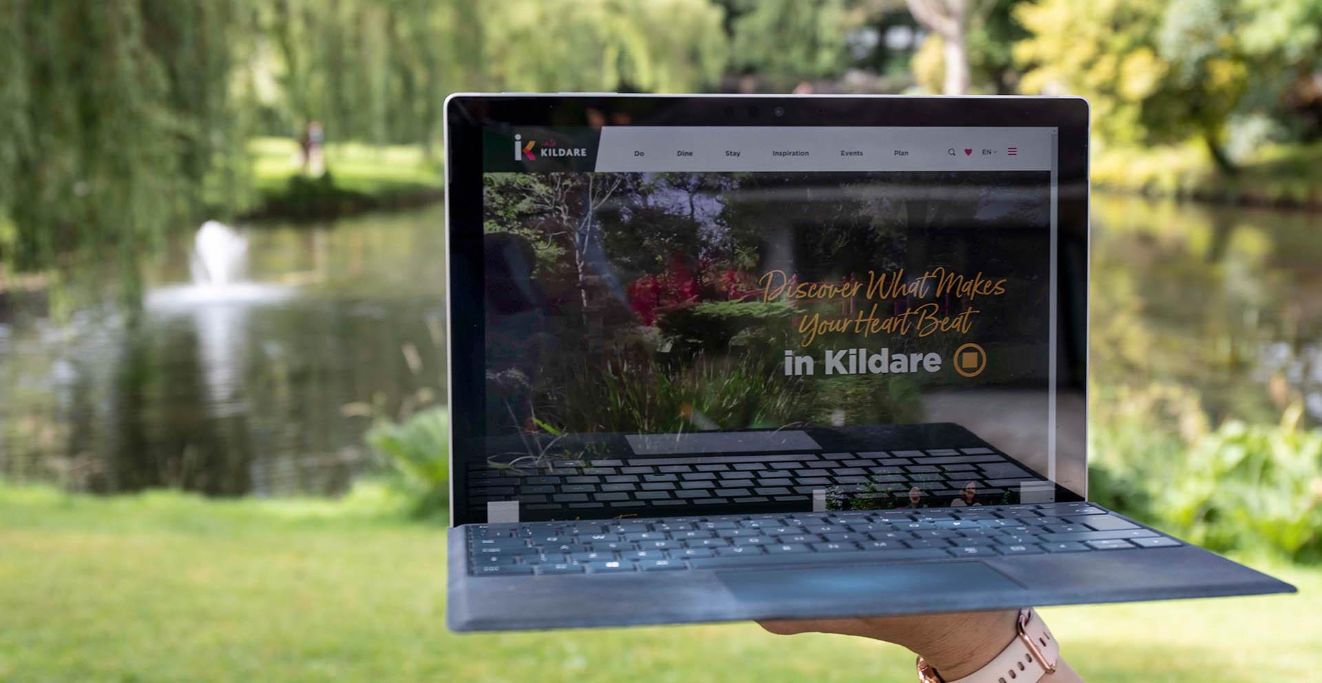 Into Kildare Website Header